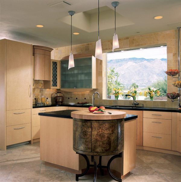 kitchen decorating ideas and designs Remodels Photos Dorado Designs Tucson Arizona United States contemporary-kitchen-003