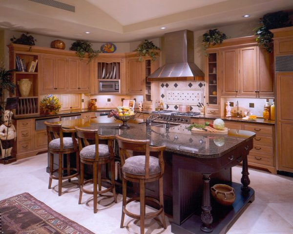 kitchen decorating ideas and designs Remodels Photos Dorado Designs Tucson Arizona United States traditional-kitchen-003