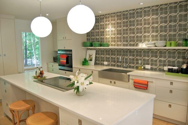 kitchen decorating ideas and designs Remodels Photos Eco-Modernism, Inc Raleigh North Carolina United States modern-kitchen