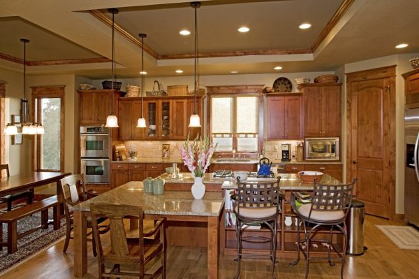 kitchen decorating ideas and designs Remodels Photos Erin Johnson Interiors, LLC Westminster Colorado United States craftsman-kitchen