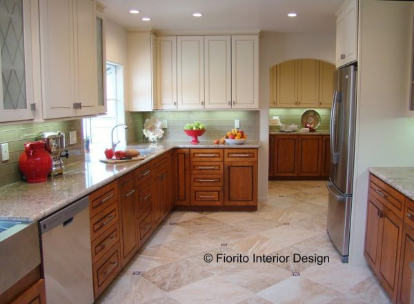 kitchen decorating ideas and designs Remodels Photos Fiorito Interior Design Santa Cruz California United States traditional-kitchen
