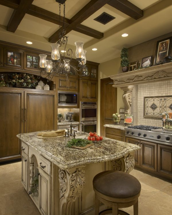 kitchen decorating ideas and designs Remodels Photos Gina Spiller Design Monterey California United States mediterranean-kitchen-002