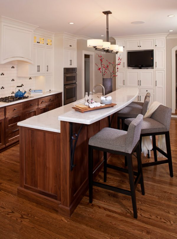 kitchen decorating ideas and designs Remodels Photos INVIEW Interior Design Minneapolis Minnesota United States transitional-kitchen-001