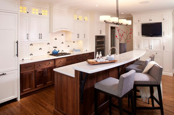 kitchen decorating ideas and designs Remodels Photos INVIEW Interior Design Minneapolis Minnesota United States transitional-kitchen