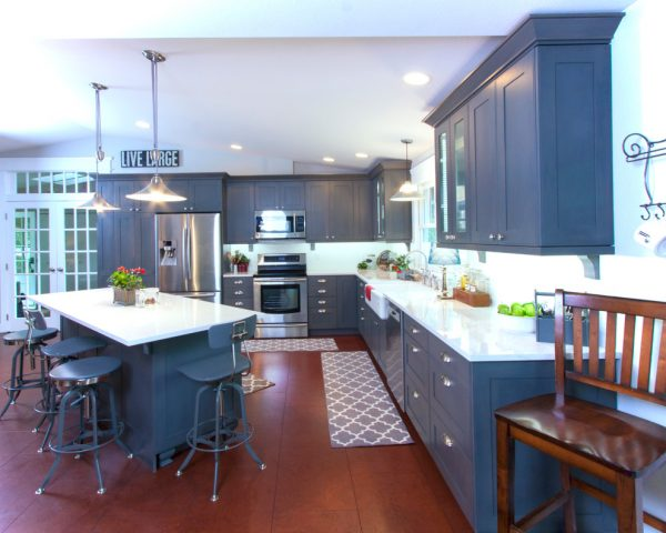 kitchen decorating ideas and designs Remodels Photos Interior Dimensions Tumwater Washington United States contemporary-kitchen-001