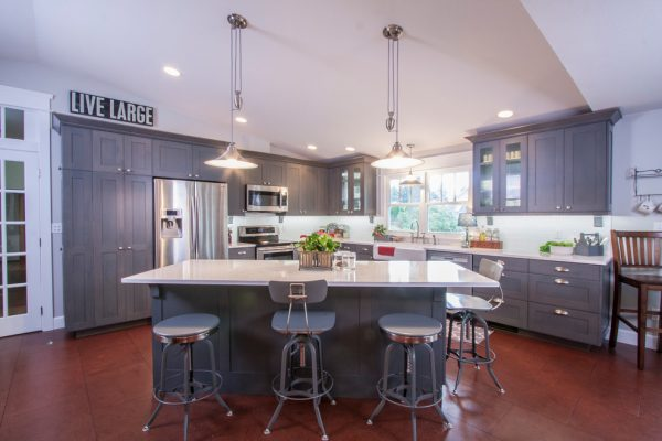 kitchen decorating ideas and designs Remodels Photos Interior Dimensions Tumwater Washington United States contemporary-kitchen