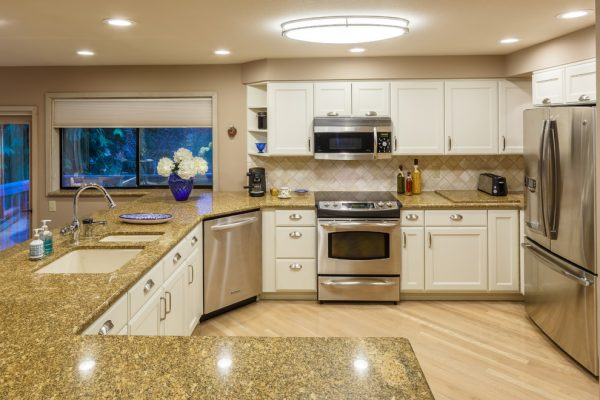 kitchen decorating ideas and designs Remodels Photos Interior Dimensions Tumwater Washington United States transitional-kitchen