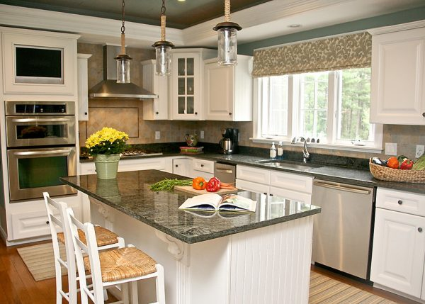 kitchen decorating ideas and designs Remodels Photos Janet Shea Interiors Hanover Massachusetts United States beach-style-kitchen