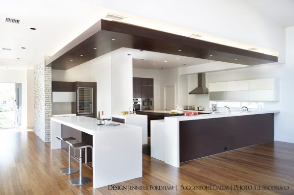 kitchen decorating ideas and designs Remodels Photos Jennifer Fordham Dallas Texas United States modern-kitchen-003
