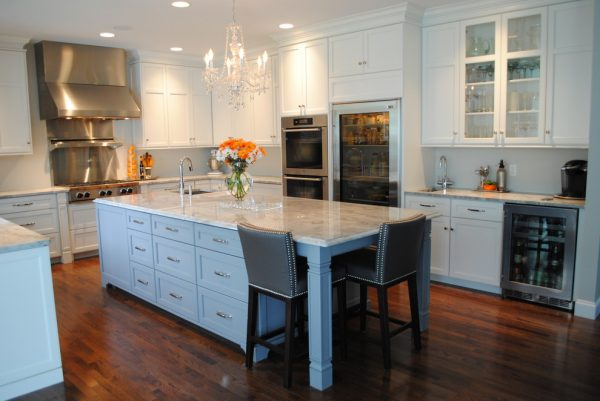 kitchen decorating ideas and designs Remodels Photos Karen Viscito Interiors Mechanicsburg Pennsylvania United States contemporary-kitchen-001