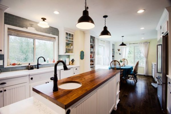 kitchen decorating ideas and designs Remodels Photos Mise en Place Design Bremerton Washington United States farmhouse-kitchen-001