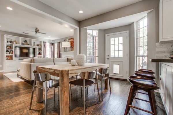 kitchen decorating ideas and designs Remodels Photos RN Interior Design Dallas Texas United States transitional-dining-room