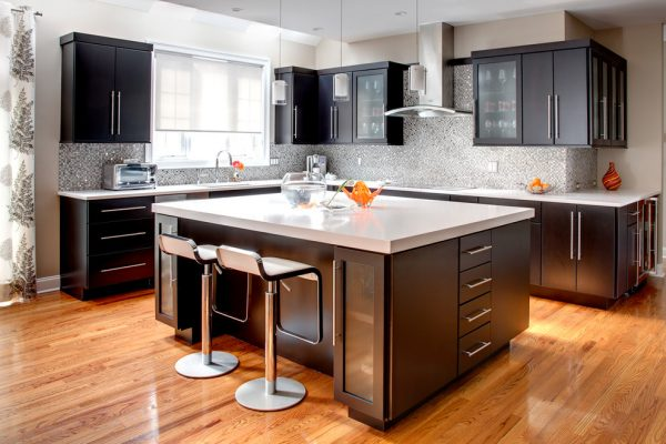 kitchen decorating ideas and designs Remodels Photos Sally Scott Interior Designer Guilford Connecticut United States contemporary-kitchen