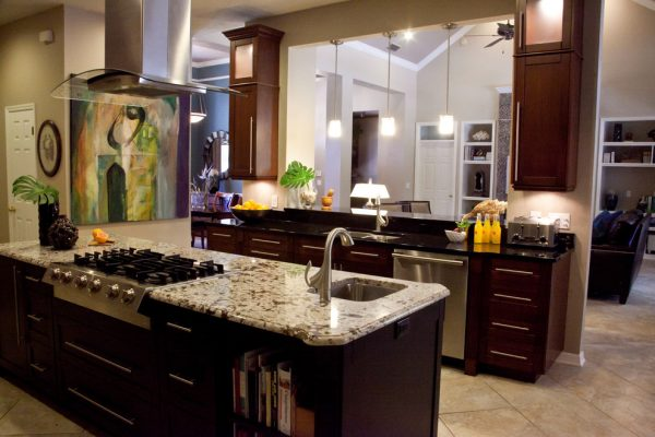 kitchen decorating ideas and designs Remodels Photos Sarah Cain Design Gainesville Florida United States contemporary-kitchen