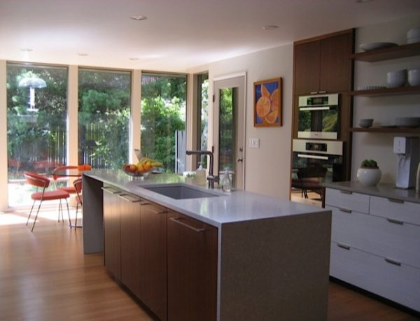 kitchen decorating ideas and designs Remodels Photos Savvy Cabinetry by Design Seattle Washington United States midcentury-kitchen