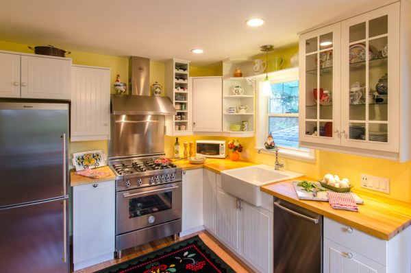 kitchen decorating ideas and designs Remodels Photos Total Spaces Design Seattle Washington United States scandinavian-kitchen