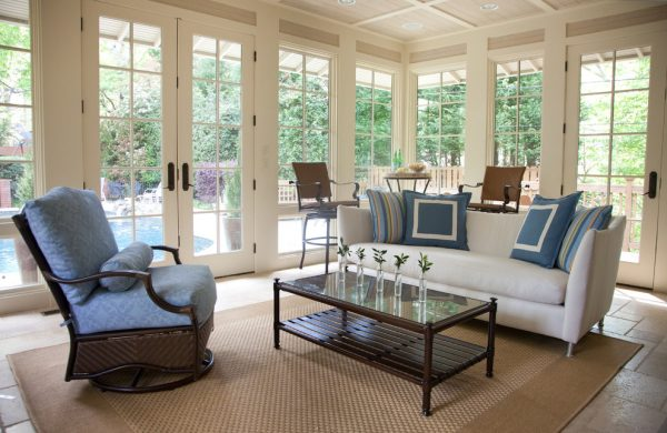 living room decorating Remodels Photos Rachel Oliver Design, LLC Atlanta Georgia United States traditional-pool