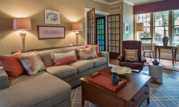 living room decorating ideas and designs Remodels Photo Laura Zender Design, Allied ASIDAnn ArborMichigan United States home-design-001