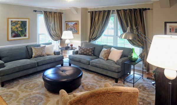 living room decorating ideas and designs Remodels Photo Laura Zender Design, Allied ASID Ann Arbor Michigan United States transitional