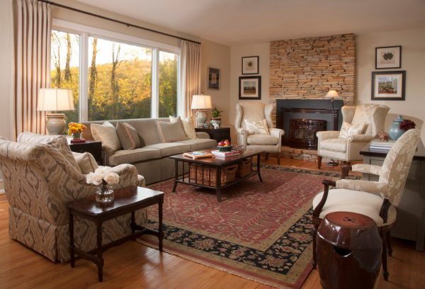 living room decorating ideas and designs Remodels Photos  A. Lynn Design SykesvilleMaryland United States traditional-living-room-001