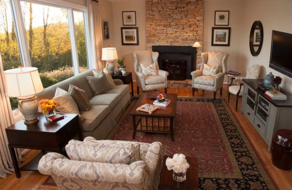 living room decorating ideas and designs Remodels Photos  A. Lynn Design SykesvilleMaryland United States traditional-living-room