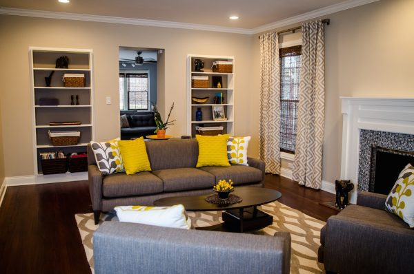 living room decorating ideas and designs Remodels Photos Alexis Nielsen Interiors Oak Park Illinois United States living-room