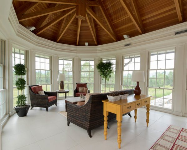 living room decorating ideas and designs Remodels Photos Alice Williams Interiors Hanover New Hampshire United States sunroom