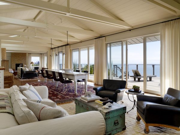 living room decorating ideas and designs Remodels Photos Arrowood Design LLCSan Francisco California United States beach-style-dining-room