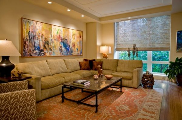 living room decorating ideas and designs Remodels Photos Bartolomei & Company Interior Design Northwest Washington contemporary-family-room
