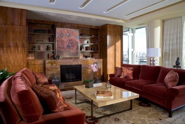 living room decorating ideas and designs Remodels Photos Bartolomei & Company Interior Design Northwest Washington traditional-living-room