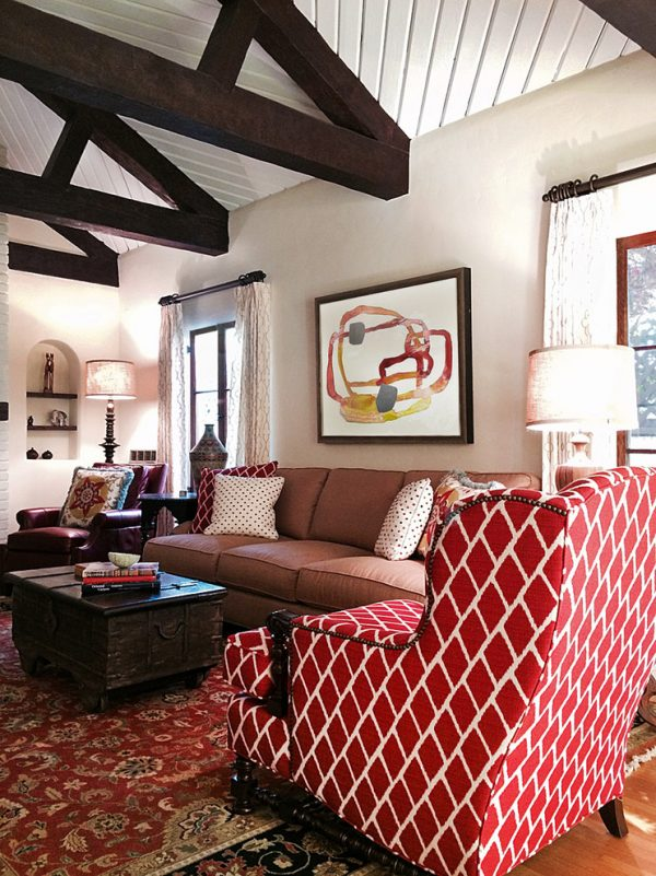 living room decorating ideas and designs Remodels Photos Benedict August Fullerton CaliforniaUnited States eclectic-living-room