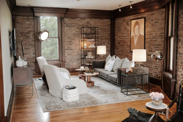 living room decorating ideas and designs Remodels Photos Brad Ramsey Interiors Nashville Tennessee United States eclectic-home-office-001