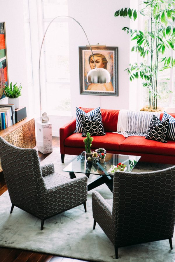 living room decorating ideas and designs Remodels Photos Briana Nix Lifestyle + Design San Francisco California United States eclectic-living-room