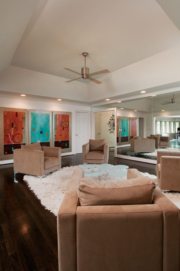 living room decorating ideas and designs Remodels Photos Burns Century Interior Design Atlanta Georgia United States modern-family-room-002