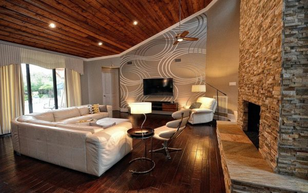 living room decorating ideas and designs Remodels Photos CLR Design Services, Inc. Houston Texas United States contemporary-family-room