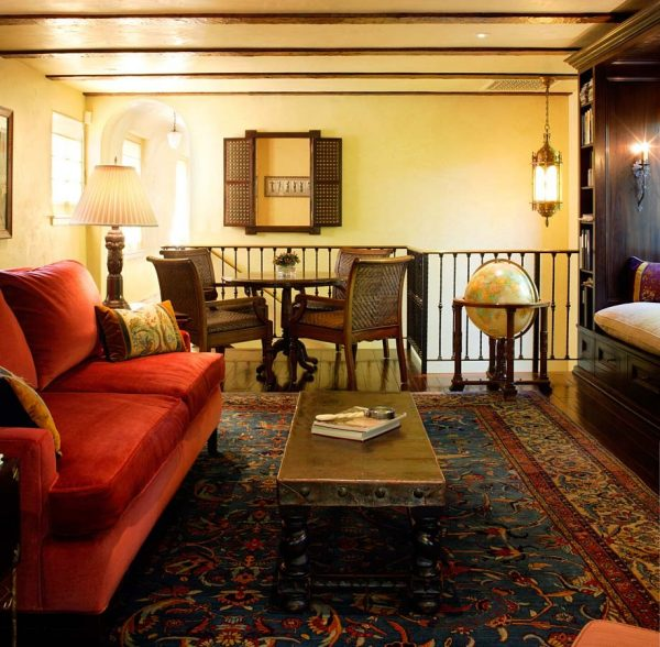 living room decorating ideas and designs Remodels Photos Chris Barrett Design Culver City California United States mediterranean-family-room