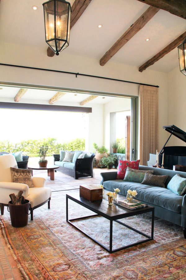 living room decorating ideas and designs Remodels Photos Chris Barrett Design Culver City California United States mediterranean-living-room-002