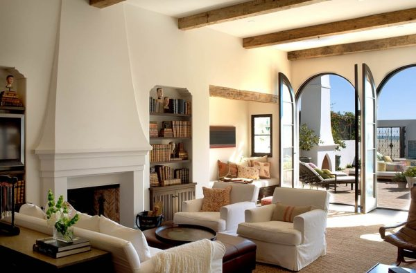 living room decorating ideas and designs Remodels Photos Chris Barrett Design Culver City California United States mediterranean-living-room