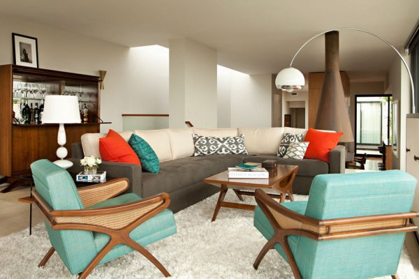 living room decorating ideas and designs Remodels Photos Chris Barrett Design Culver City California United States modern-living-room