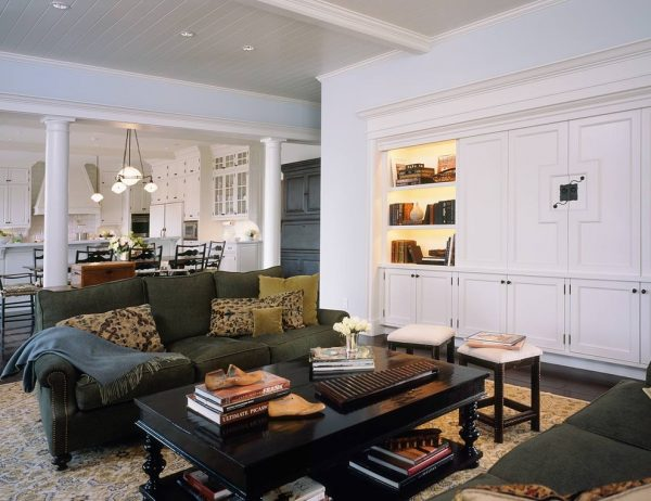 living room decorating ideas and designs Remodels Photos Chris Barrett Design Culver City California United States traditional-living-room-001
