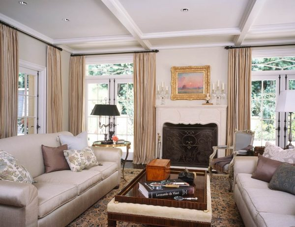 living room decorating ideas and designs Remodels Photos Chris Barrett Design Culver City California United States traditional-living-room