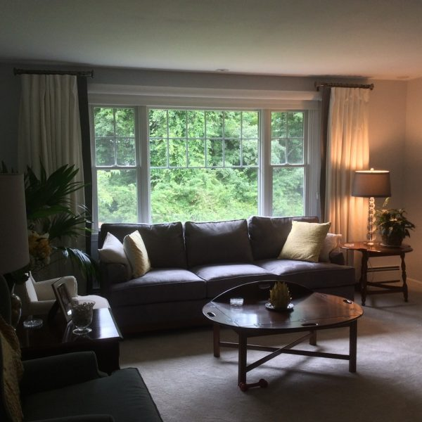 living room decorating ideas and designs Remodels Photos Curtain Call Woodbridge Connecticut United States transitional-living-room