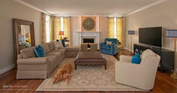 living room decorating ideas and designs Remodels Photos Davin Interiors Pittsburgh Pennsylvania United States transitional-family-room