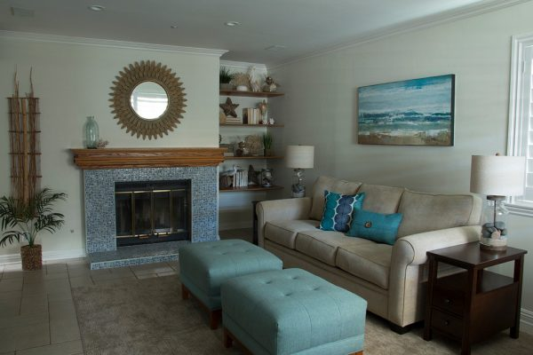 living room decorating ideas and designs Remodels Photos Deborah Vanderzel Designs Vista California United States beach-style-family-room-001