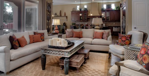 living room decorating ideas and designs Remodels Photos Design With Distinction, LLC Tempe Arizona United States eclectic