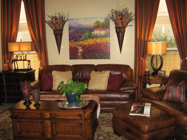 living room decorating ideas and designs Remodels Photos Design With Distinction, LLC Tempe Arizona United States family-room