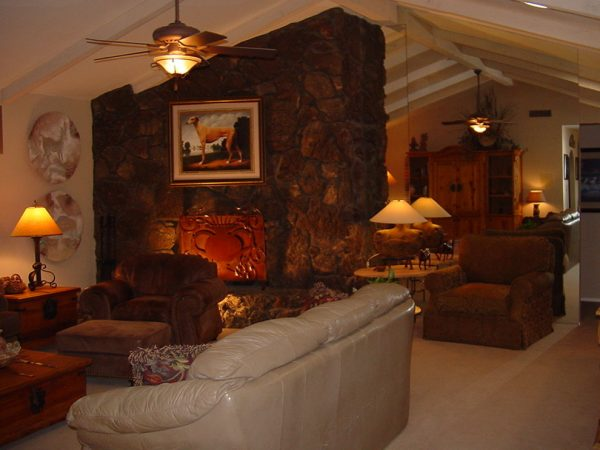 living room decorating ideas and designs Remodels Photos Design With Distinction, LLC Tempe Arizona United States rustic
