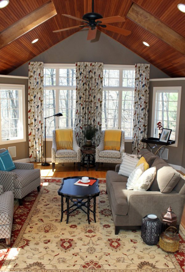 living room decorating ideas and designs Remodels Photos Diana Kennedy Interiors Wakefield Massachusetts United States transitional-living-room-002