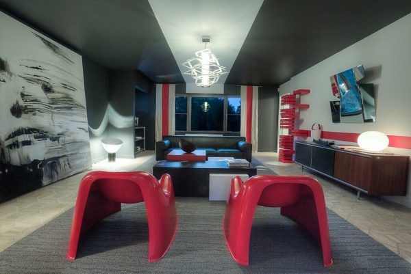 living room decorating ideas and designs Remodels Photos Dill-Thebeau Design Company St. Louis Missouri United States modern