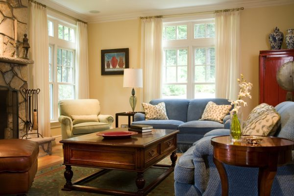 living room decorating ideas and designs Remodels Photos Edwina Drummond Interiors South Boston Massachusetts United States traditional-family-room-001